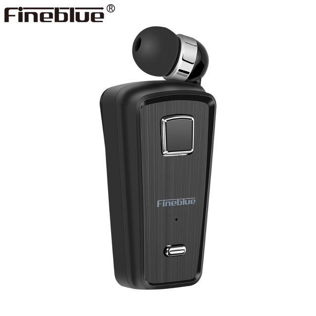 Fineblue F980 Bluetooth Earphone Wireless Earbuds business Headset with Mic Calls Remind Vibration Wear Clip Driver Stereo sport