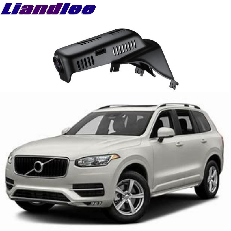 Liandlee For Volvo XC90 2002~2018 Car Black Box WiFi DVR Dash Camera Driving Video Recorder цена