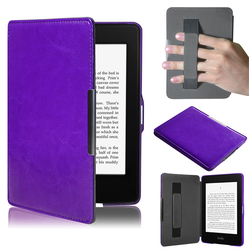 Mosunx Tablets Case Ultra Slim Leather Smart Case Cover For Amazon Kindle Paperwhite 5 td0124 dropship super slim hard cover case for amazon kindle 4 5 screen protectorfree shipping 1pcs