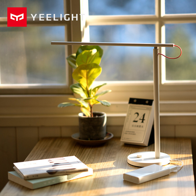 100% Original Xiaomi Yeelight Converting Cable, Work with Xiaomi MIJIA Desk Lamp 12V/1A Stable Output 92% Conversion Efficiency