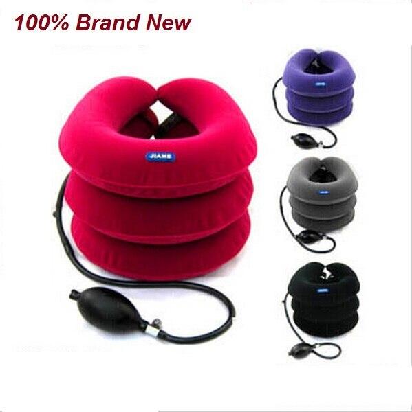 JIAHE Full velvet neck traction device household medical infs