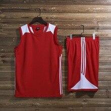 Детские костюмы баскетбольные, Мужской Женский Баскетбол тренировочные соревнования Джерси, дышащий спортивный трикотаж для баскетбольные майки колледжа