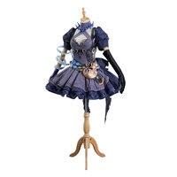 Аниме! SINoalice Алиса Униформа Алисы косплэй костюм юбка + жилет интимные аксессуары Бесплатная доставка