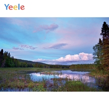 Yeele Landscape Photocall River Prairie Decor Draw Photography Backdrops Personalized Photographic Backgrounds For Photo Studio