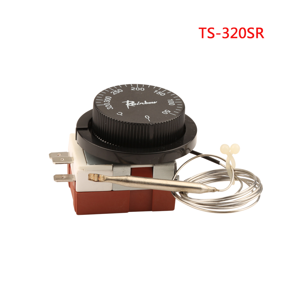 TS Series 20 A Capillary 50°C to 320°C Thermostat 250 V