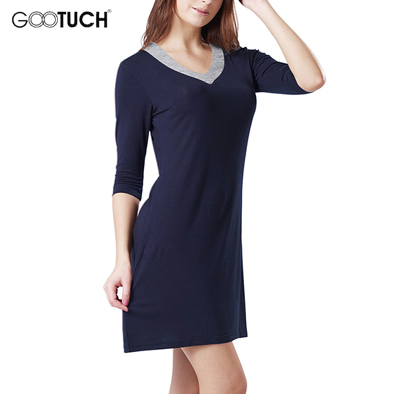 Women's Nightgowns Sleepshirts Elegant Home Dress Half Sleeve Sleepwear Women Soft Sleep & Lounge Plus Size Nightgown 5~6XL 7242