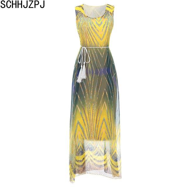Sleeveless Chiffon Dresses