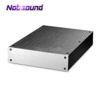 Aluminum Enclosure Power Amplifier/Preamp/Headphone Amp/DAC Chassis DIY Case Box|Amplifier| |  -