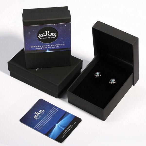 Blue cz with Box