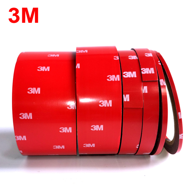 3M Car Mounting Tape Double Sided Sticker Acrylic Foam Adhesive Tape,4229 Car Roof Rack Tape Fix, 3meters/roll