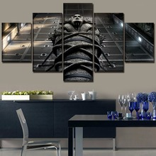 Canvas Painting Wall Art Print Home Decor 5 Pieces Movie The Mummy Poster Modern Artwork One Set Framework Or Unframed