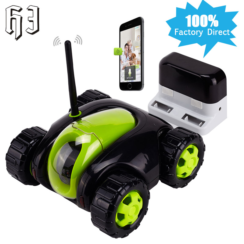 720P 1.0MP wifi FPV RC Car Vehicle Drone with Camera Remote Surveillance Control Real-time Video Cloud Removable wi-fi IP Camera  wireless charger wifi remote control car with fpv camera infrared night vision camera video toy car tanks real time video call
