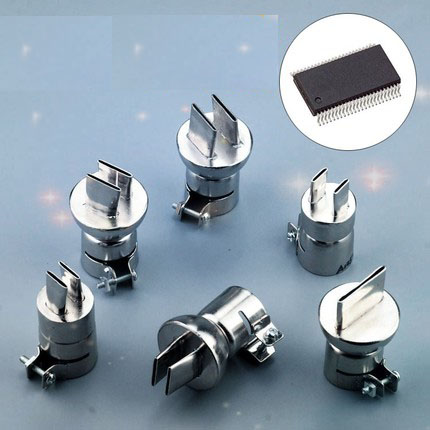 Air nozzle for Soldering station 850 Hot Air Gun BGA Nozzle SOP demolition welding 1131 1132 1133 1134 2016 new free shipping the best price one pcs tacking nozzle for hot air welding gun ss316l