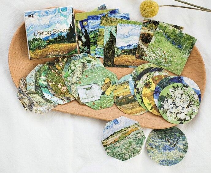 Good Landscape Diy Decorative Sticker(1pack=45pieces)