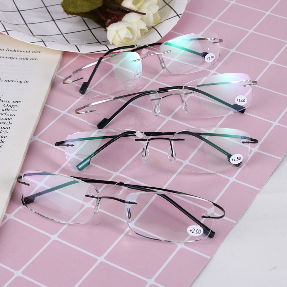 Glasses Presbyopic Vision Portable Eyewear Magnifying Ultralight Women For Parents Gift