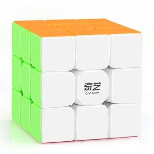 D-FantiX Qiyi Warrior W 3x3x3 المكعب السحري المهنية 3x3 سرعة مكعبات الألغاز 3 بواسطة 3 Speedcube