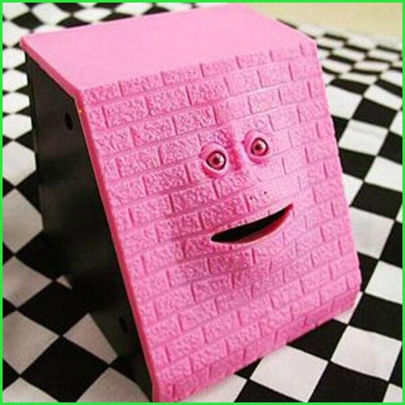 Safe Box Trapezoid Alcancia Facebank Monky Money Box Chewing piggy bank Hucha Cute Coin Box For Money MONEY BOX Face Bank