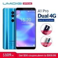 Umidigi A1 Pro Global Version Dual 4G LET Smartphone 18 9 Full Screen 3GB 16GB 3150mAh