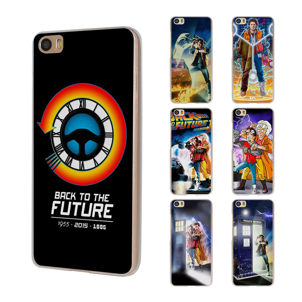 Back To The Future boy design hard clear Case Cover for Xiaomi Mi 4 4s 4c 5 5s note 2 Redmi 3 3s 4A 4 Pro note 3 note