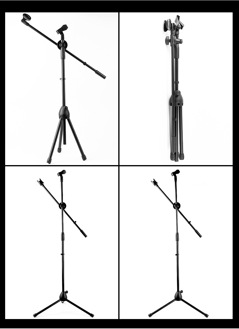 Adjustable Mic Stand (Portable) 7
