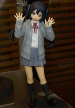 K-ON! 18cm Anniversary Azusa Action Figures PVC brinquedos Collection Figures toys for christmas gift free shipping