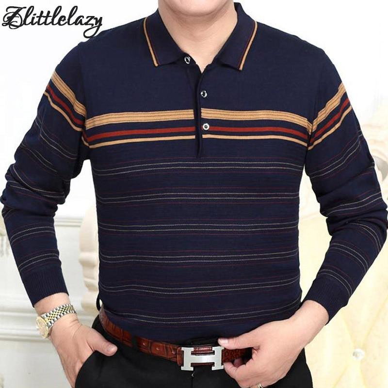 2018 brand fashion slim fitness camisa masculina long sleeve   polo   shirt men pol striped casual mens   polos   shirts clothing 16137
