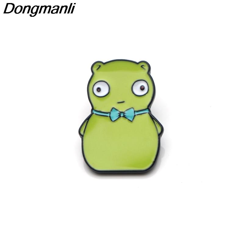 Bob/'s Burgers enamel pin Kuchi Kopi cute fun gift cartoon humor hat lapel bag
