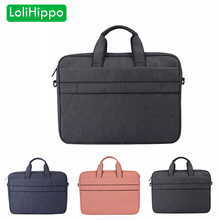 LoliHippo NEW Laptop Briefcase Universal Notebook Single Shoulder Messenger Bag for Apple Macbook Huawei Xiaomi Dell 13″ 14″ 15″