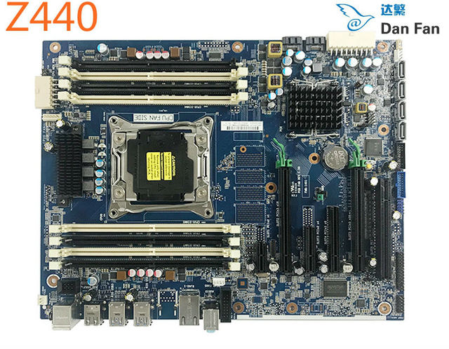 US $159 6 5% OFF|761514 001 For HP WorkStation Z440 Motherboard 710324 001  710324 002 X99 LGA2011 Mainboard 100%tested fully work -in Motherboards