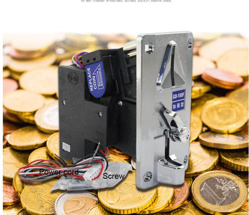 интеллектуальный спереди запись процессор монетоприемники монета