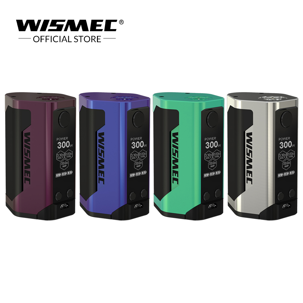 [USA/France] Wismec Reuleaux RX GEN3 TC Mod Box 300 W sortie alimentée par batterie 18650 VW/TC-Ni/TC-Ti/TC-SS/TCR mode Vape Box Mod