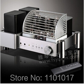 Yaqin MC-300C 300B tube amplifier HIFI EXQUIS Single ended highest grade Class A tube amp remote control oldbuffalo 300b signal ended tube amplifier hifi exquis black aluminum chassis 4 way lamp amp
