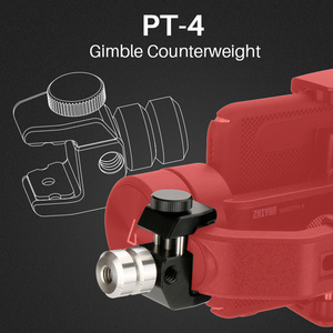 Image 5 - Zhiyun Smooth 4 3 Axis Handheld Smartphone Gimbal Stabilizer Counterweight for Balancing Phone Lens for iPhone 11 Pro XS XR X 8P
