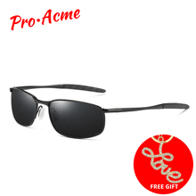 Pro Acme Brand Sunglasses Men Polarized Rectangle Coating Dr