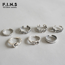 F.I.N.S 925 Sterling Silver Woman Fashion Rings 2019 Knuckle