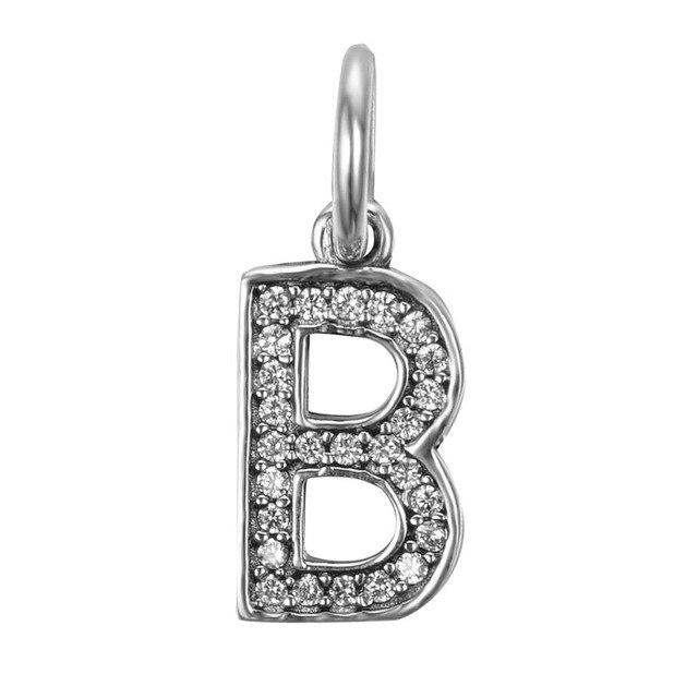pandora charms letter b
