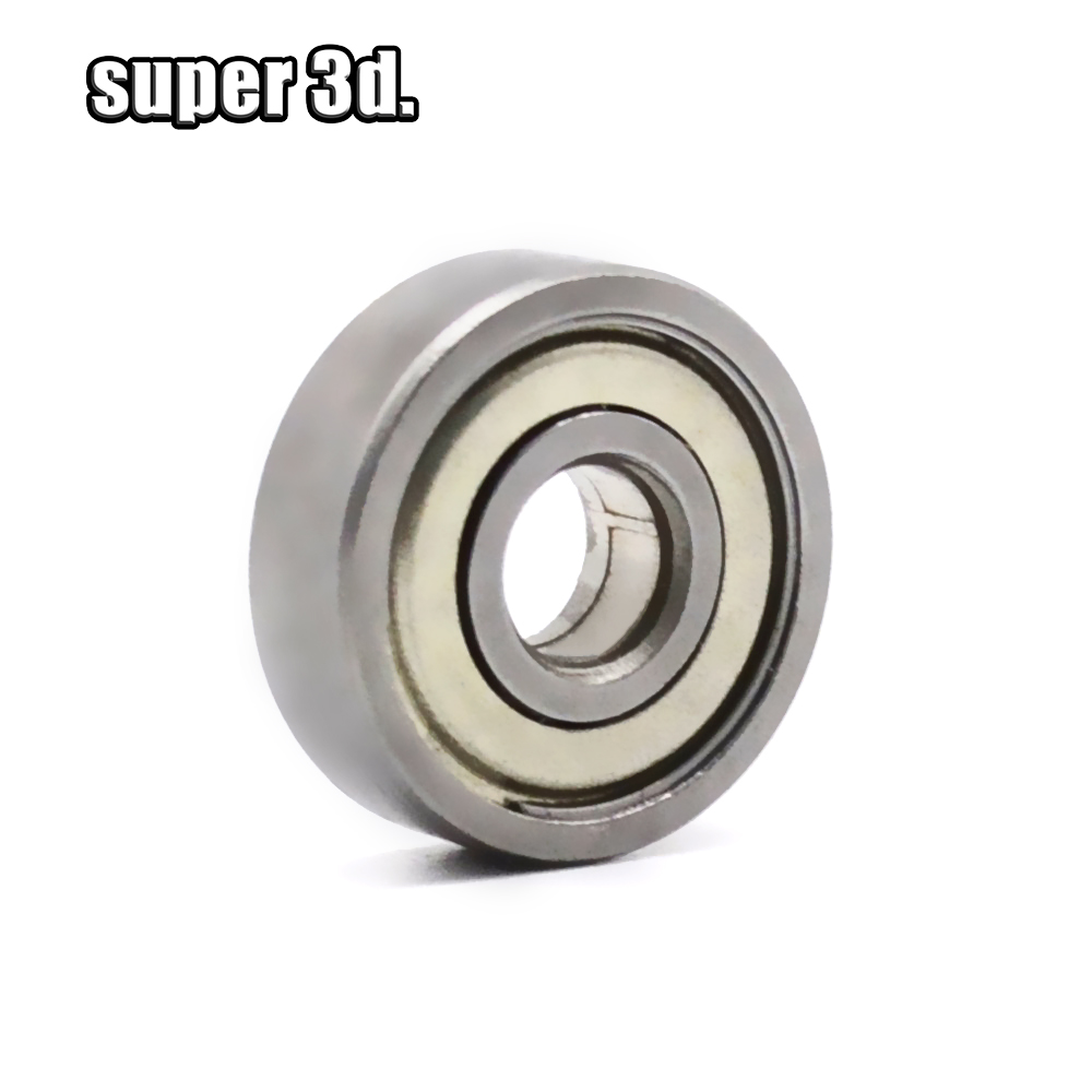 1/5/10PCS ABEC-7 Flange Ball Bearing 625zz For 3D Printers Parts Deep Groove Flanged Pulley Wheel