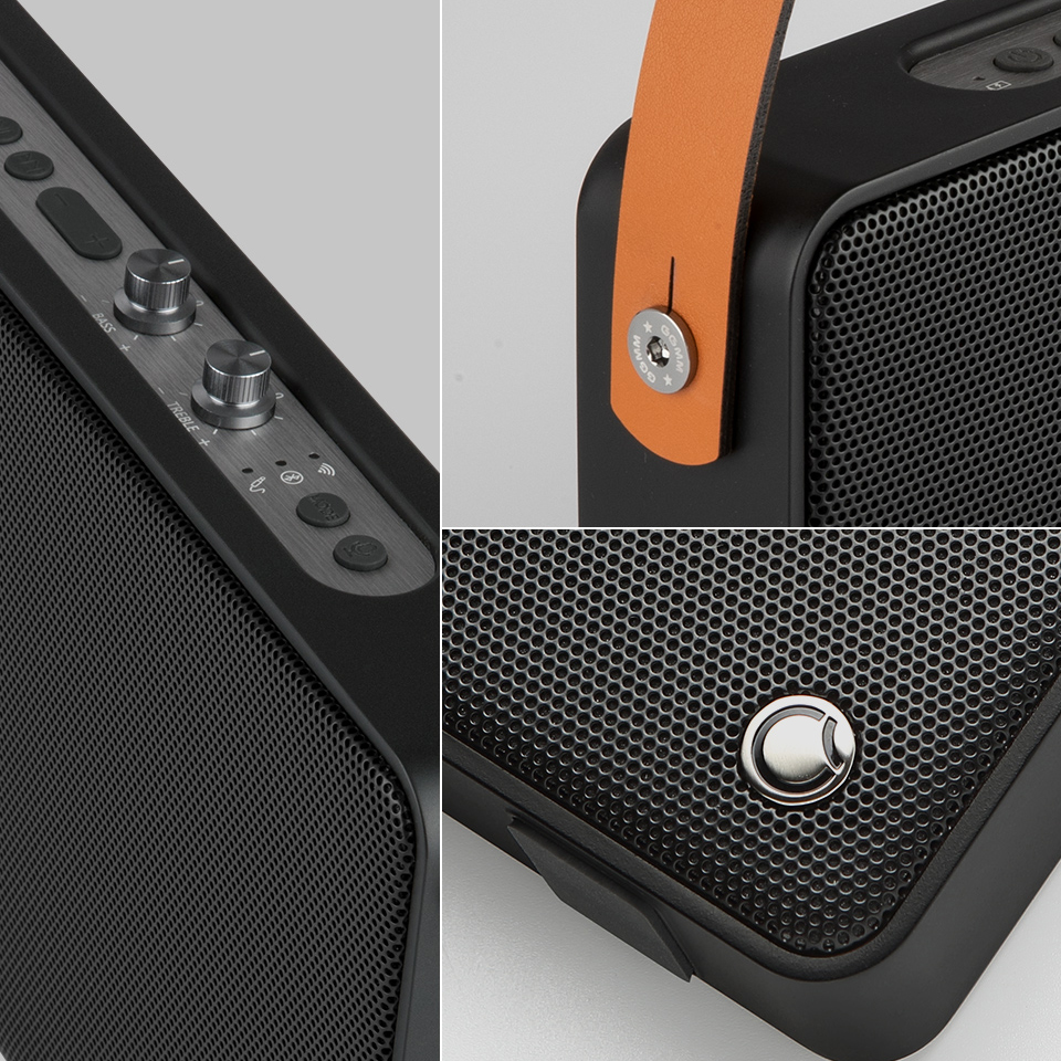 GGMM E5 Bluetooth Speaker 20W 6600mAh Portable Wireless WiFi Speaker With  Heavy Bass for ios Android Support Alexa AirPlay DLNA