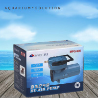 100W RESUN MPQ 905 Aquarium Fish Tank DC 12V Air Compressor Portable Aquaculture Vehicle Mounted Air Pump Oxygen Aerator Pump