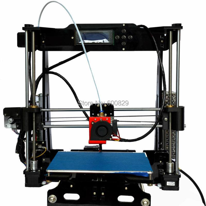 3D Printer DIY KIT Prusa i3 Standard Auto leveling 802E 802EA LCD Screen 220 220 220mm