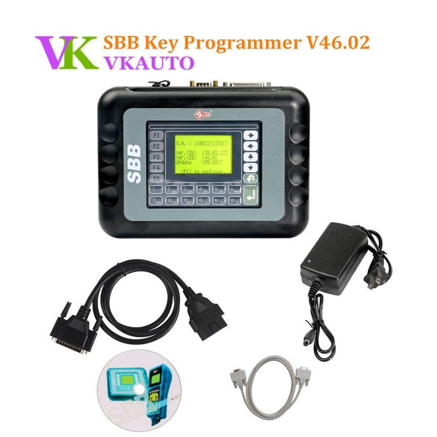 Новый СББ V46.02 СББ v33 не.Ключевые 02 программатор 9 Языки программирования ключей в Иммобилайзер