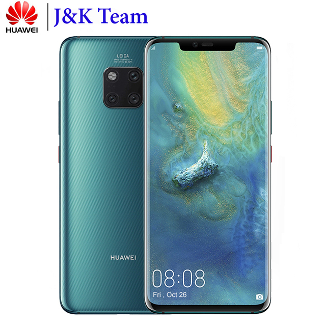 Huawei Mate 20 Pro Wireless Charging In-Screen Fingerprint 40MP Leica Triple camera Mobile Phone 4200mAh Smartphone Android 9.0