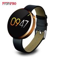 Frompro dm360 bluetooth smart watch здоровья металлический smartwatch фитнес-трекер приложение для apple iphone ios android удаленной камеры часы