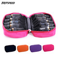 10 Lattices 15ML/10ML Cosmetic Bag for Traveling Double Zipper Oil Carrying Case Essential Oil Bottle Storage Box Make Up Bags