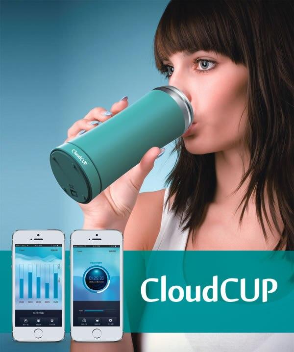 Cloud cup offre spéciale tasse intelligente tasse de santé publicité cosmétologie café surveillance intelligente
