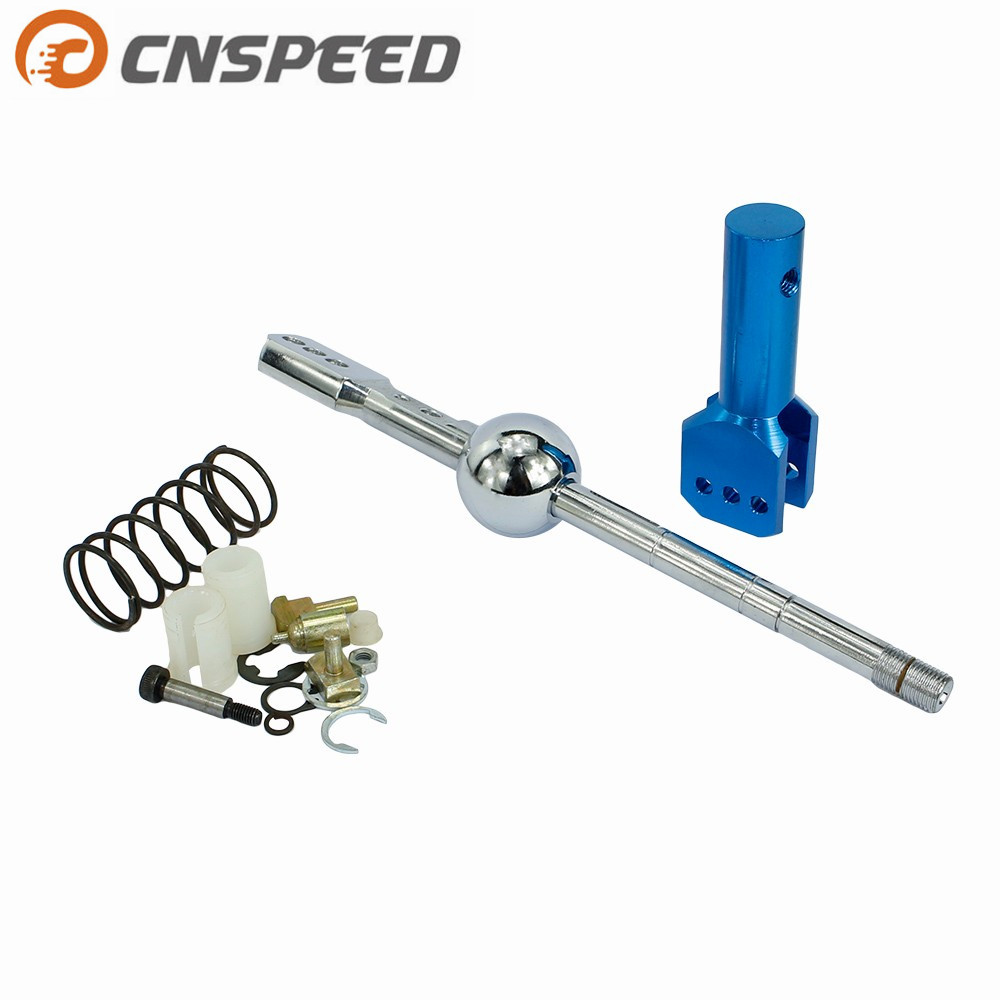 CNSPEED Short shifter For Audi 96-01 A4 00-01 S4 Quick Racing Shifter Quick Shift Short Throw Kit Fit YC100255-BL цена