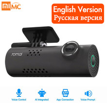 Original Xiaomi 70mai Car DVR Camera 1080P HD Night Vision Dash Cam Wifi Car Camera Auto Driving Recorder G-sensor Voice Control(China)