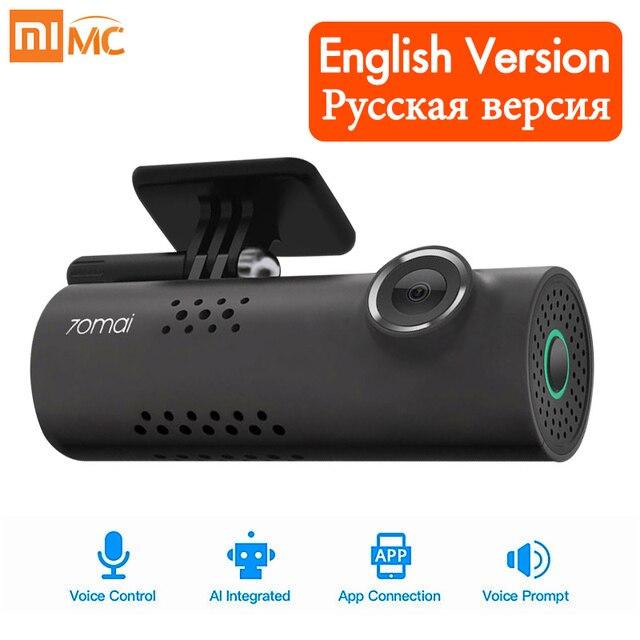 Original Xiaomi 70mai Car DVR Camera 1080P HD Night Vision Dash Cam Wifi Car Camera Auto Driving Recorder G-sensor Voice Control