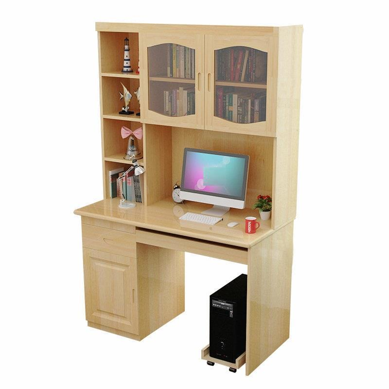 Pure computer with bookshelf bookcase combination wood writing children's learning desk south shore 3 piece bookcase set in pure white
