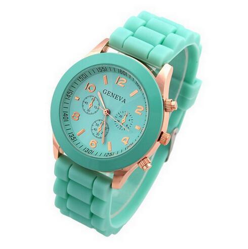 Top Luxury Brand Silicone Quartz Watch Women Men Ladies Fashion Bracelt Wrist Watch Wristwatch Relogio Feminino Masculino Clock